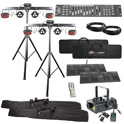 Chauvet DJ GigBAR 2 4-in-1 Complete Package