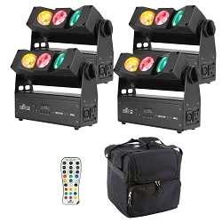 Chauvet DJ SlimBEAM Quad IRC Quad Package
