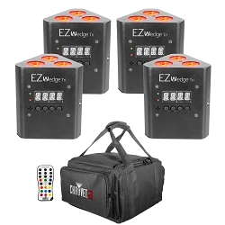 Chauvet DJ EZWedge Tri Rechargeable LED Uplights