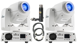 Chauvet DJ Intimidator Spot 255 IRC White Package Deal