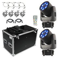 Chauvet DJ Intimidator Trio Moving Head Duo Package