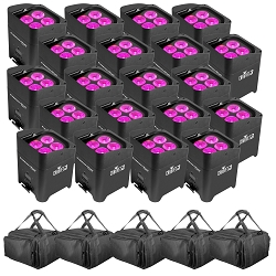 Chauvet DJ Freedom Par Hex 4 20 Pack
