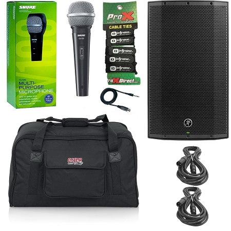 Mackie Thump12A with Microphone & Bag Package