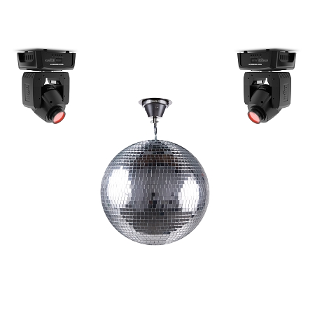 Mirror Ball & Moving Head Package