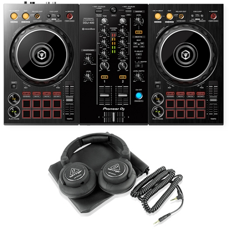 Pioneer DJ DDJ-400 Package Deal 2
