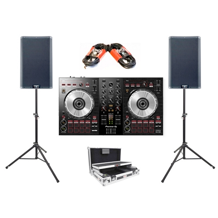 Pioneer DJ DDJ-SB3 and QSC K12.2 Package Deal