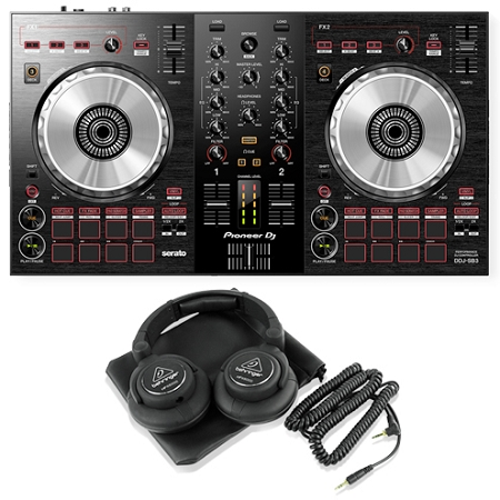 Pioneer DJ DDJ-SB3 Package Deal 2