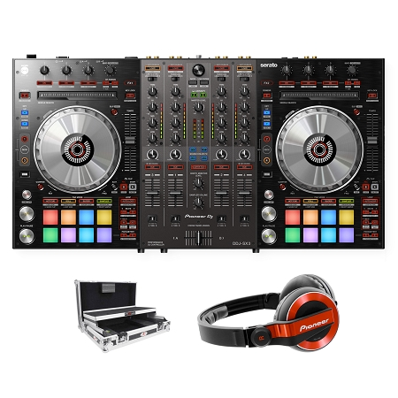 Pioneer DJ DDJ-SX3 With ProX Case Package Deal