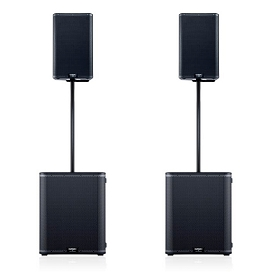 QSC K12.2 & KS118 Powered Speaker Package