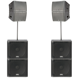 Line Array Systems: QSC | D A S  Audio | JBL | RCF | Yorkville
