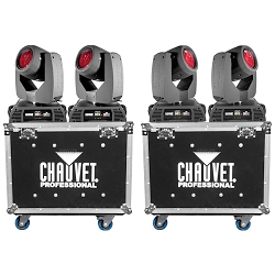 Chauvet Professional Rogue R2 Beam Quad Pack