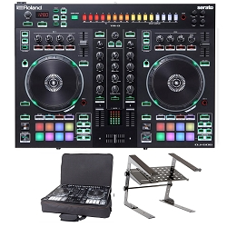 Roland DJ-505 With Laptop Stand and Bag Package Deal