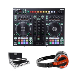 Roland DJ-505 With ProX Case Package Deal