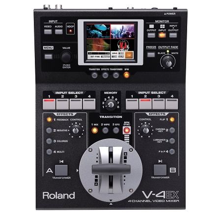 Roland V4EX 4 Channel Video Switcher Mixer