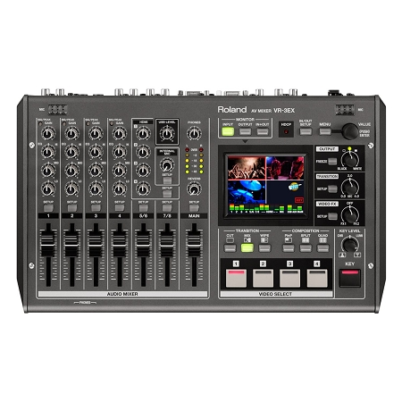 Roland VR3EX All in One Audio and Video Mixer