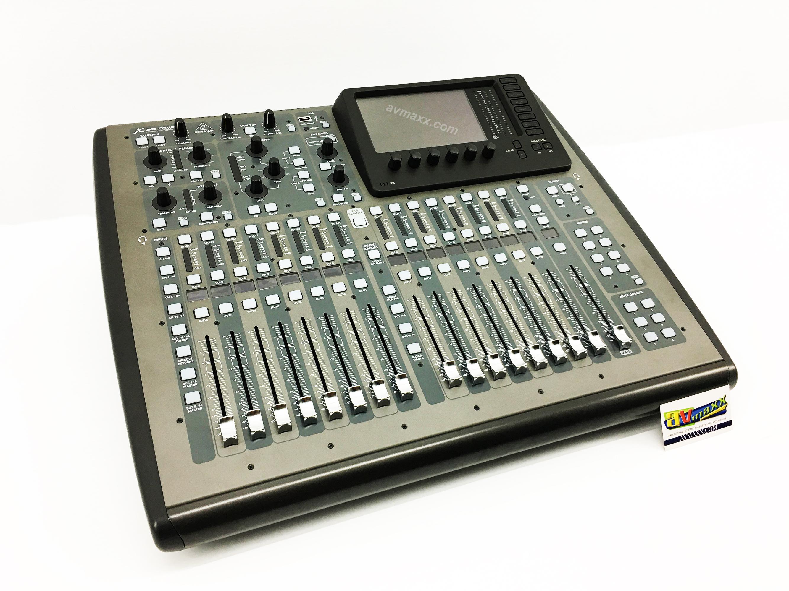 behringer x32 compact digital mixer used model. Black Bedroom Furniture Sets. Home Design Ideas