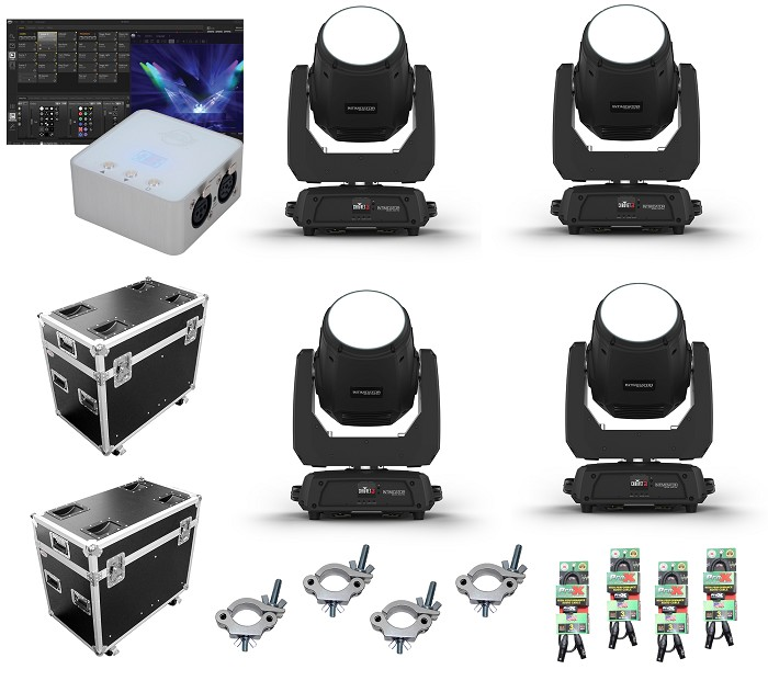 Chauvet DJ Intimidator Beam 355 IRC Package Deal