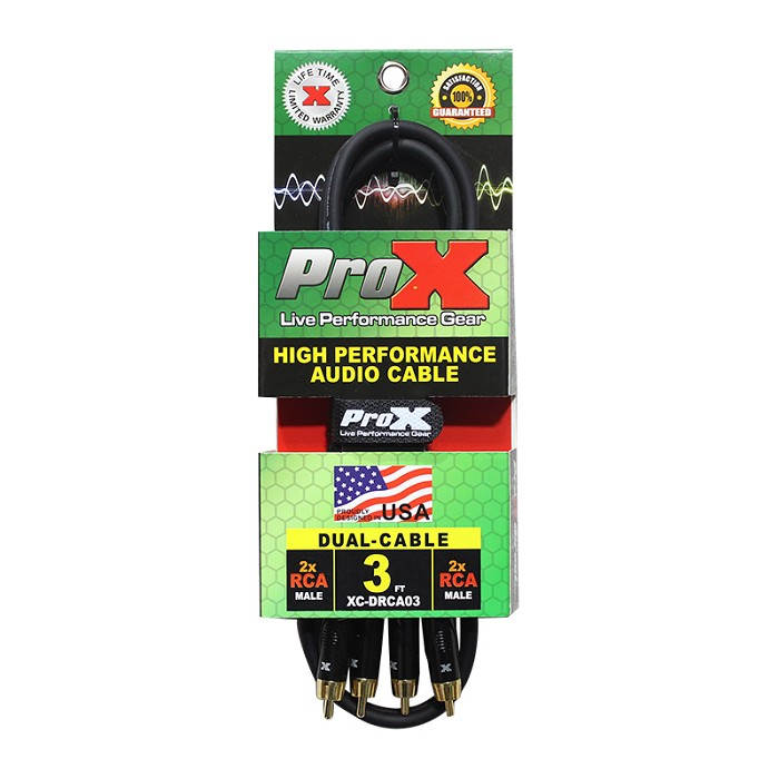 Pro X Cables XC-DRCA3