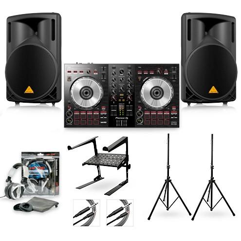 Pioneer DJ DDJ-SB3 & Behringer B210D Package