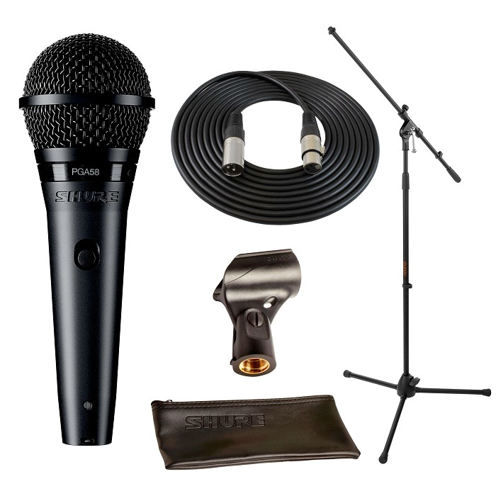 Shure PGA58 Live Vocal Package