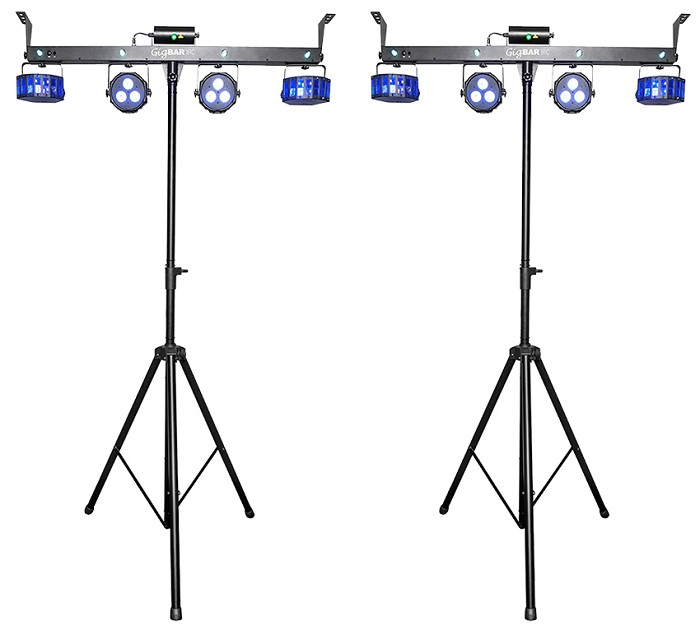 Chauvet DJ Gig Bar IRC Duo Pack